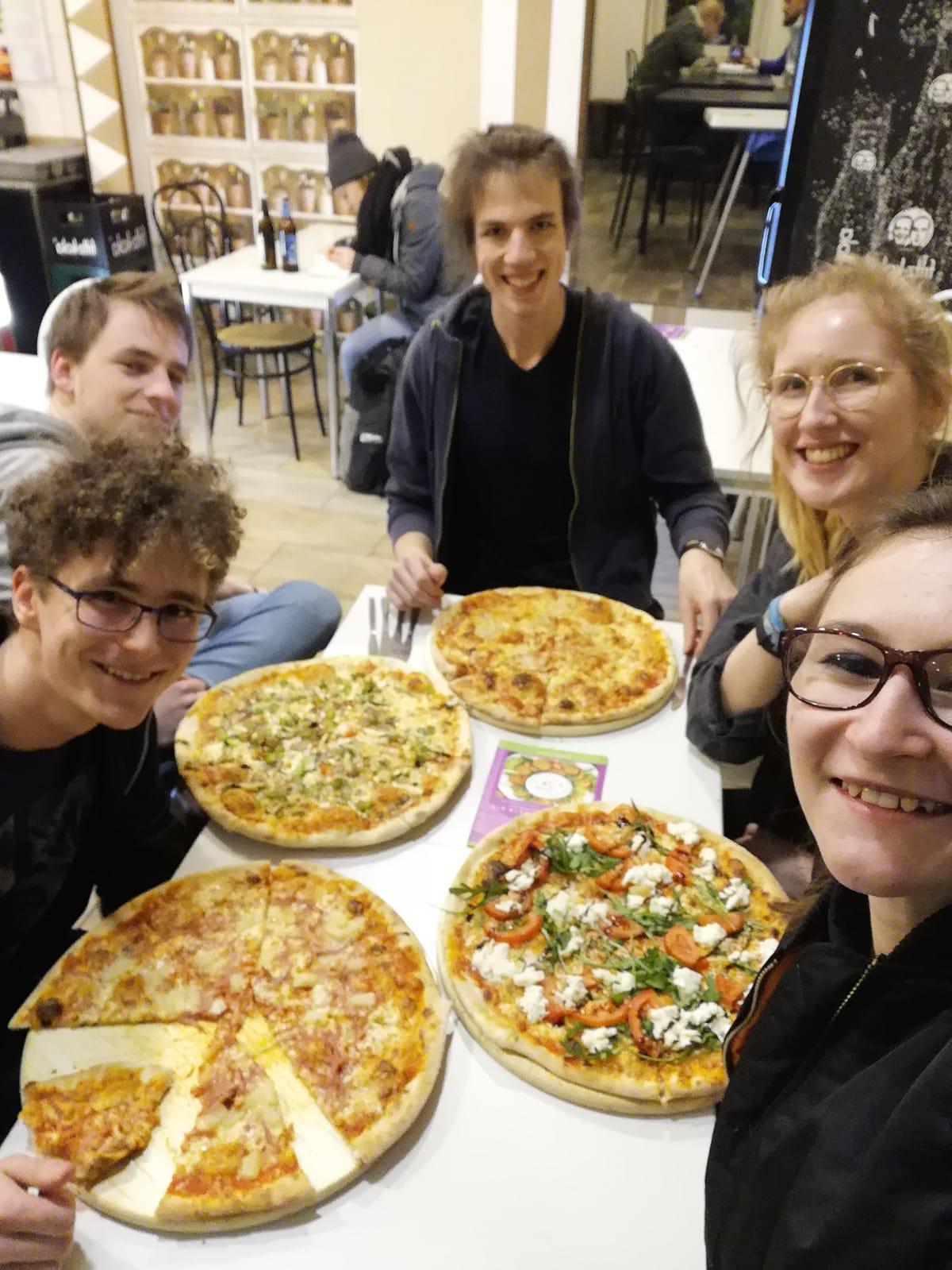 Campus Records ♥️ Pizza