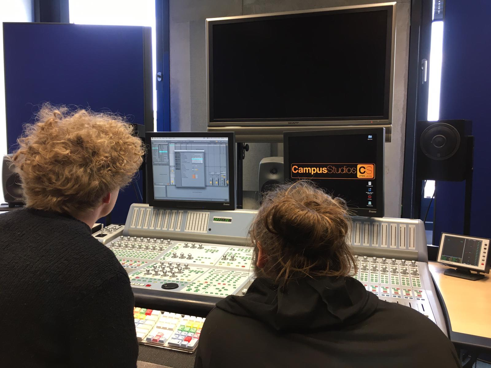 Audio-Workshop im Tonstudio